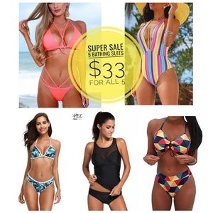 Other - 🔥Bikini/Bathing Suit Bundle SALE